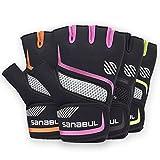 Sanabul New Item Paw V.2 Gel Boxing MMA Kickboxing Cross Training Handwrap Gloves (Pink, S/M)