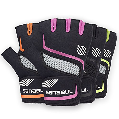 Sanabul New Item PAW v.2 Gel Boxing MMA Kickboxing Cross Training Handwrap Gloves (Pink, S/M)