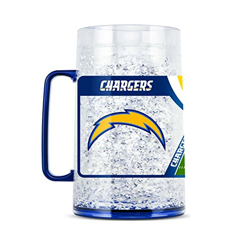 NFL Los Angeles Chargers 38oz Crystal Freezer Monster Mug