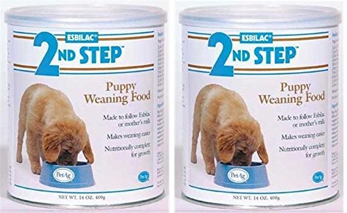 (2 Pack) PetAg Esbilac 2nd Step Puppy Weaning Food, 14 oz Per Pack