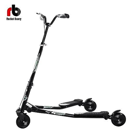 Ajustable Kids 3 ruedas plegable Speeder patinete Tri ...