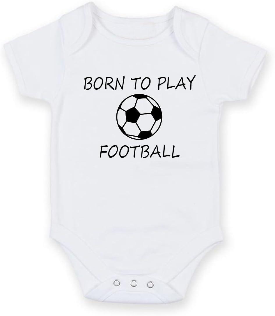Born To Play – Balón de fútbol personalizada bebé niño Niña Unisex ...