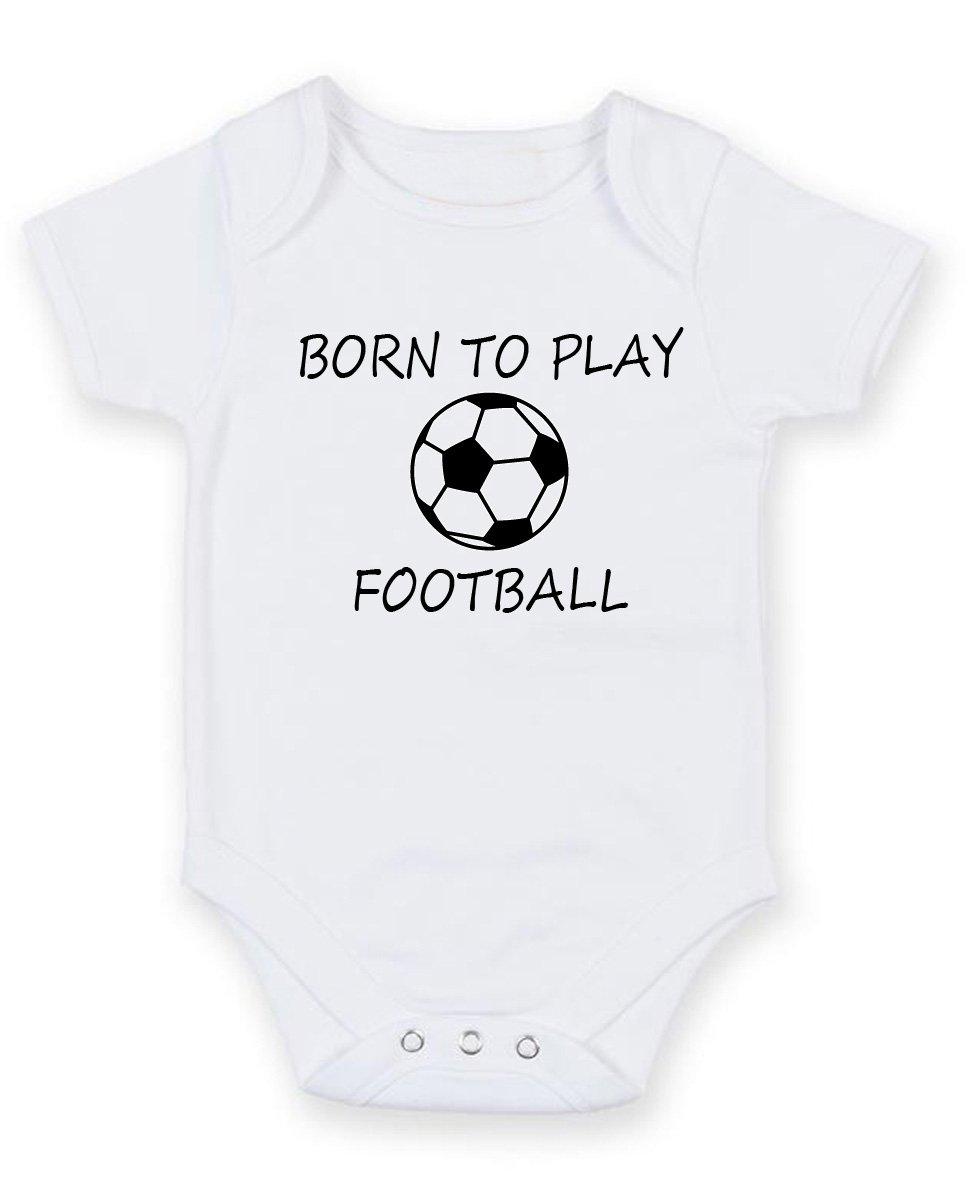 Born To Play - Balón de fútbol personalizada bebé niño Niña Unisex ...