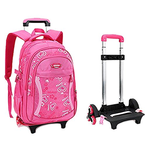 trolley backpack for girls - 3