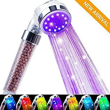 Nosame® Shower Head Ionic Filter Filtration High Pressure Water Saving 3 Mode /&