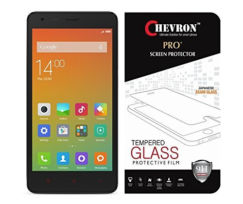 Chevron 0.33mm Tempered Glass Shock Absorbing Screen Protector for Mi Redmi 2 Prime