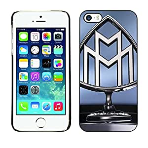 MOBMART Carcasa Funda Case Cover Armor Shell PARA Apple iPhone 5 / 5S - The Steel Image