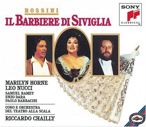 Rossini - Il Barbiere di Siviglia / Horne, Nucci, Ramey, Dara, Barbacini, Chailly (Enzo Test)