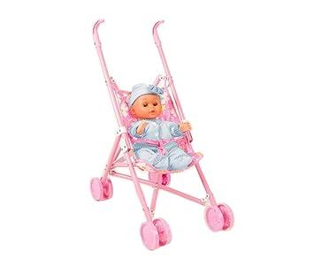 101176 Carrito de paseo con muñeca DOLCE AMORE el muñeco ...