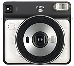 The Instax square Sq6 is the first Analog instant camera within the Instax square lineup. It is the perfect tool for users who want to be creative and use instant photos to express themselves and their everyday moments on a square film format...