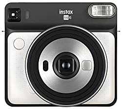 Instax Square Sq6 - Instant Film Camera - Pearl White