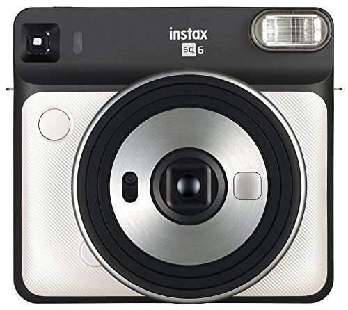 Fujifilm Instax Square SQ6 - Instant Film Camera - Pearl White