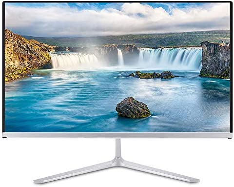 ASHATA IPS Monitor,WISENOVO 21.5 Inch 19201080 IPS Portable HDMI Monitor PC Screen Display, Ultra-Thin Portable IPS Monitor Display with Perfect HD Picture Quality(White)