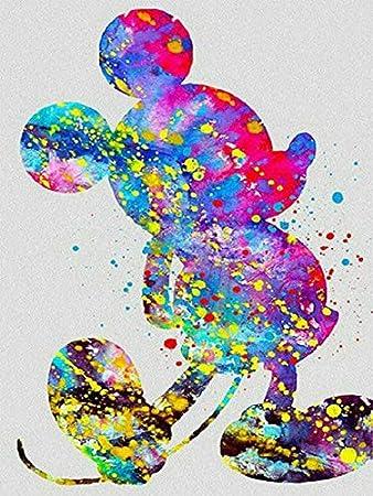 5D full Square Diamond Embroidery Mickey mouse Diy Diamond Painting Cross Stitch cartoon Disney Home Decorative Crafts Painting