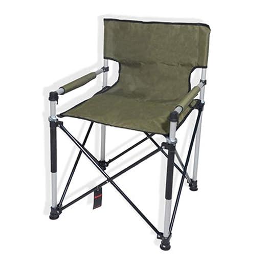 Silla Plegable Camping Ultraligera Sillón De Aluminio Al ...