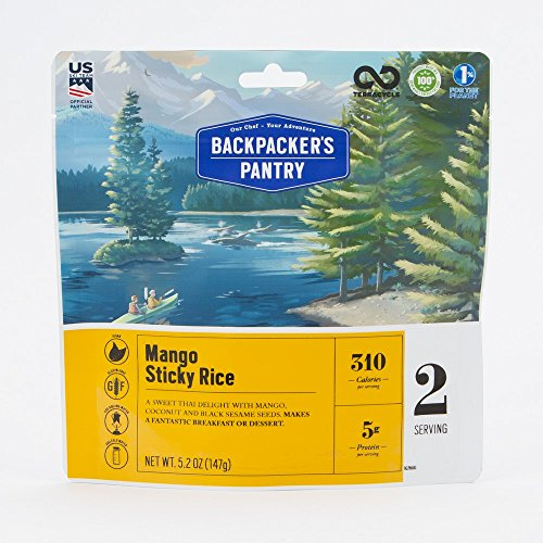 Mango Coconut Dessert (Backpacker's Pantry Mango Sticky Rice, (Packaging May Vary))