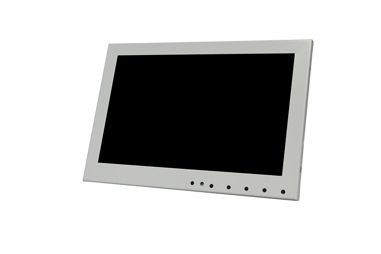 Kenuco White 10.1'' LED Monitor with HDMI/VGA/Composite/RCA Input