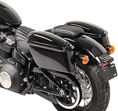 Borse Laterali Rigide OG con supporti per Kawasaki VN 800 Classic
