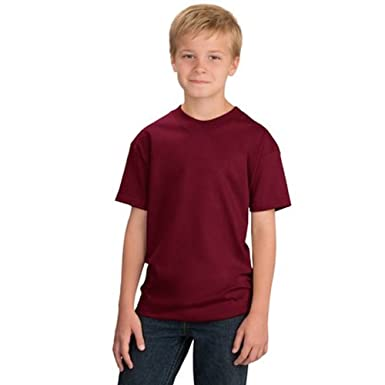 3828ad09 Star and Stripes Kids T Shirt, 100% Organic Cotton Plain Children T Shirt,  Plain Kids t Shirts in 15 Colours: Amazon.co.uk: Clothing