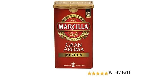 Marcilla - Gran Aroma Mezcla - Café Molido y Torrefacto - 250g ...