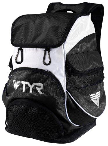 TYR Alliance Team II Backpack , Black/White