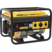 Champion Power Equipment Model 46533, 3500/4000 Watt Portable Gas-Powered Generator CARB