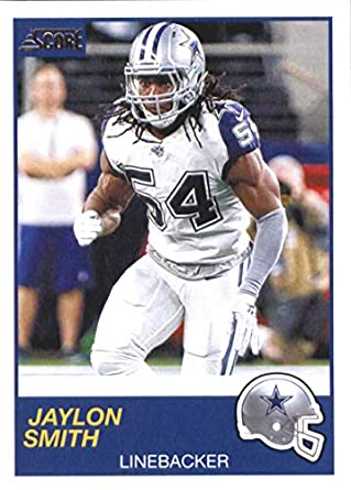 new product 5cc62 c219a Amazon.com: Football NFL 2019 Score #170 Jaylon Smith #170 ...