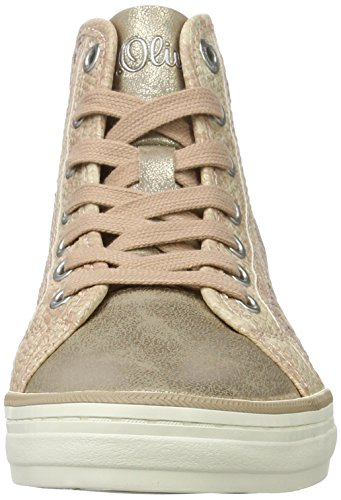 old Femme oliver 25202 Rose 512 Sneakers S Hautes dwF1fYYq