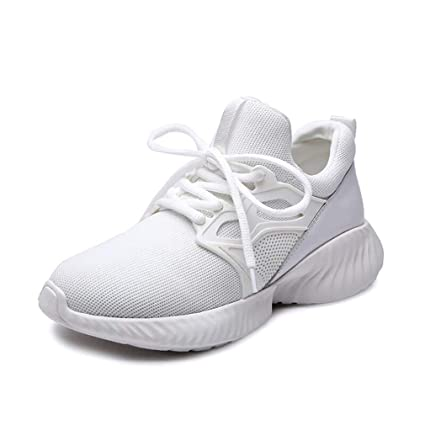 c6e6743d30fe60 Women s Casual Shoes Spring Fall Knit Lace-Up Comfort Sneakers Student  Jogging Fitness