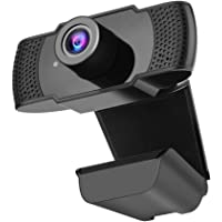 Runsnail Webcam HD 1080p with Microphone, Web Camera 100-Degree View Angle,USB Webcam Compatiable with PC Laptop for…