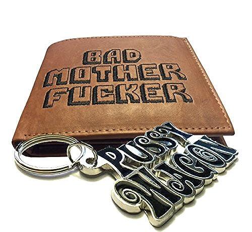 04. BMF Wallet & Black Pussy Wagon Keychain