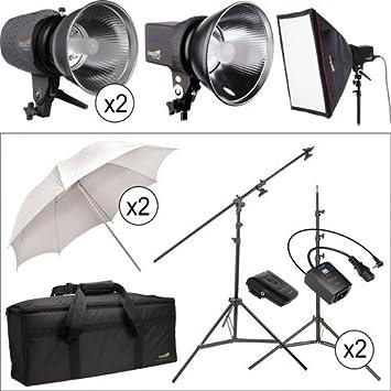 Impact Three Monolight Portrait Boom Kit with Case (120VAC)  sc 1 st  Amazon.com & Amazon.com : Impact Three Monolight Portrait Boom Kit with Case ... azcodes.com