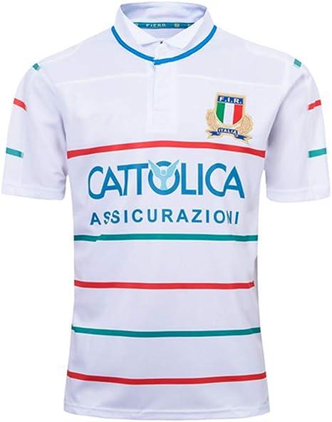 K-Flame Jersey de Rugby para Italia Entrenamiento para Hombre ...