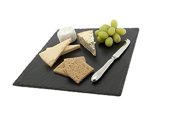 the just slate company square slate cheese board