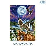 Diamond Dotz DD12.028 Kit Advanced Mystic Wolf