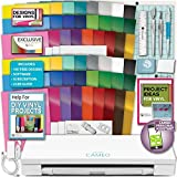 Silhouette Cameo 3 Machine Bundle Mega Vinyl Starter Bundle- 50 sheets Oracal vinyl with transfer paper, Tools, Designs