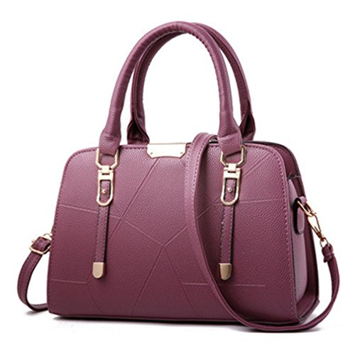 For Handbags Bag handbags Leather Bag Women crossbody Plum Women Bag Thread Female w5qtHH