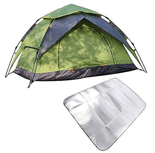 成長ワーカー扱うSheng yuan ワンタッチテント ドームテント  カップル/2-3人用 折りたたみ 簡易テント 設置簡単  uvカット 紫外線 メッシュ 防水 キャンプ アウトドア