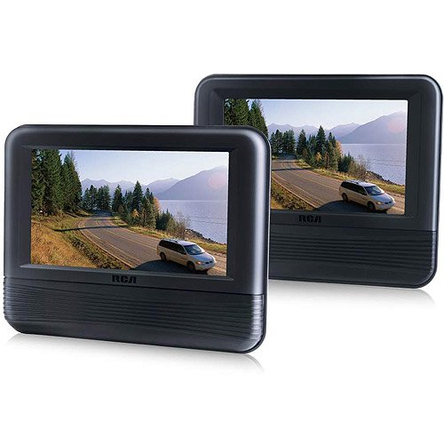 RCA DRC69705E22 Mobile DVD Player - 7.0-inch LCD Dual Screen