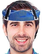 Enjovdery Forro de inserção de capacete de ciclismo – Forro de inserção de capa rígida PVA para o verão com faixa de transpiração segura para absorção de suor