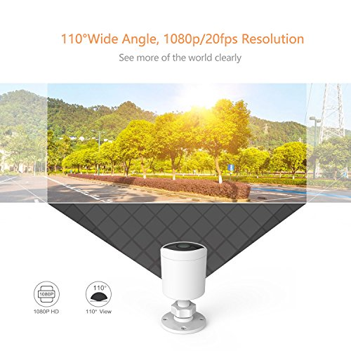 YI Outdoor Surveillance Camera, 1080P HD Wireless Cloud