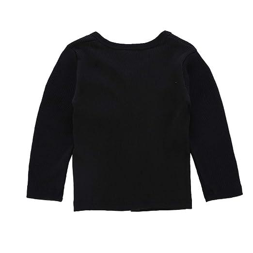 206b6d2ad Amazon.com  1-6T Boys Girls Cardigan Knitted Thin Sweater Long ...