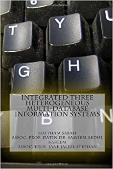 Book Integrated Three Heterogeneous Multi-Database Information Systems