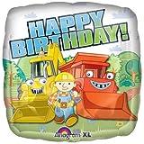 18 Inch Bob the Builder Happy Birthday Mylar Balloon, Health Care Stuffs