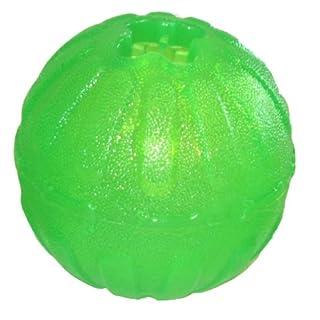 Starmark Treat Dispensing Chew Ball Tough Dog Toy Med/Lrg