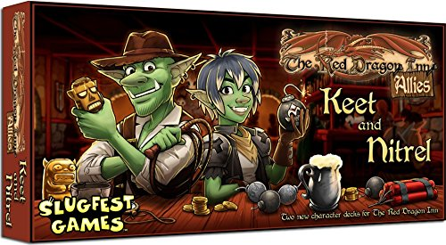 Red Dragon Inn Allies Keet & Nitrel Board Game