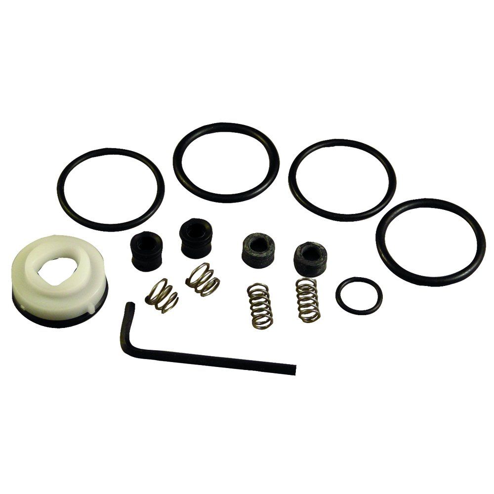 Danco 86978 Cartridge Repair Kit, For Use With Delta Kitchen Faucets, Hot, Cold Water, Rubber, Stainless Steel