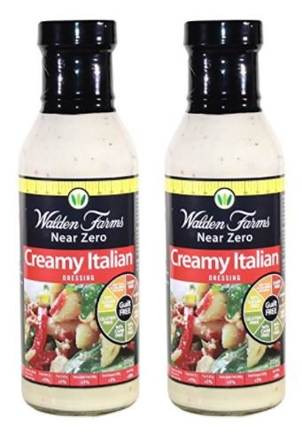 Walden Farms Creamy Italian Dressing, 12 Ounce (Pack of 2)