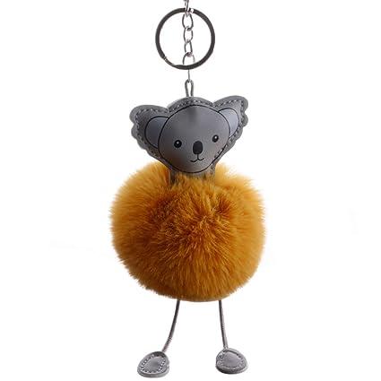 Nuohuilekeji - Llavero de Piel sintética con diseño de Koala ...