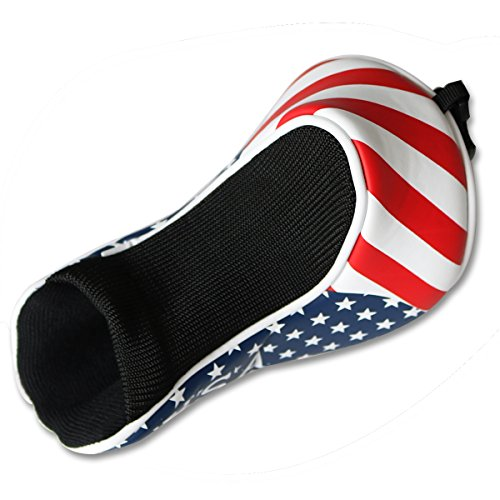 Craftsman Golf Stars & Stripes American USA US Flag Fairway Wood Headcover Head Cover Replacement For Titleist Taylormade Callaway Mizuno Cobra Ping Adams by Craftsman Golf (Image #3)